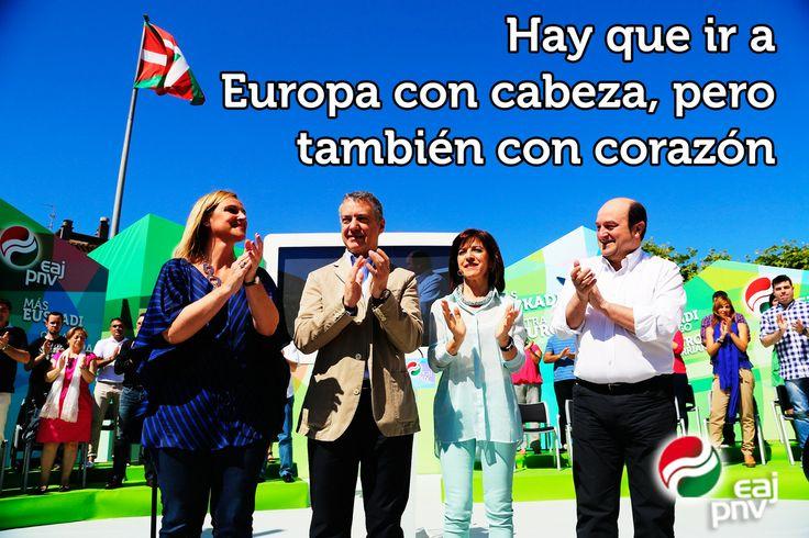 """Izaskun Bilbao: """"Hay que ir a Europa con cabeza, pero también con corazón""""."""