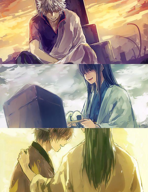 Gintoki, Katsura, Takasugi, Shouyou