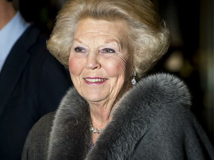 Princess Beatrix arrives at Ahoy for the acknowledgements to her Royal Highness. The Dutch people bring a musical tribute as thanks for 33 years. The party is the last activity of the National Committee inauguration. 01.02.2014,