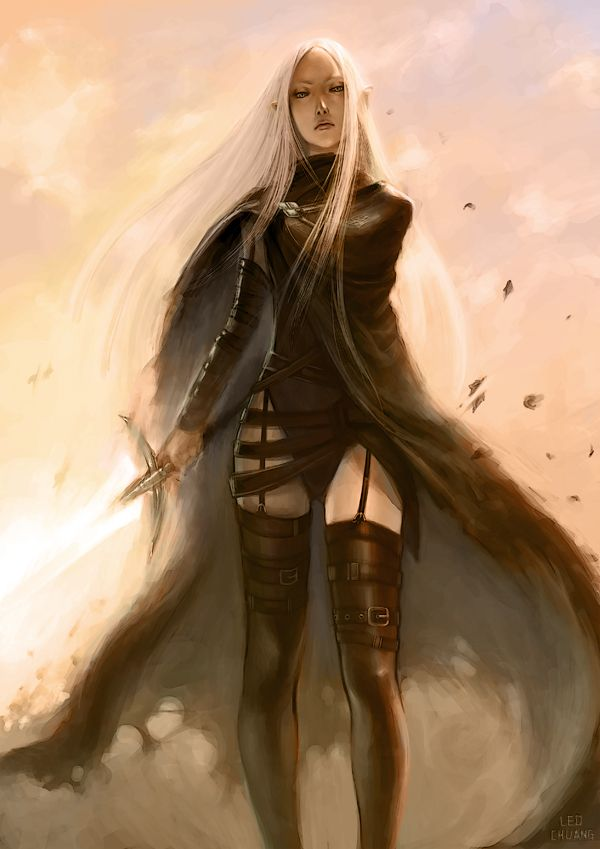 Claymore Irene by *gooloo0-o on deviantART