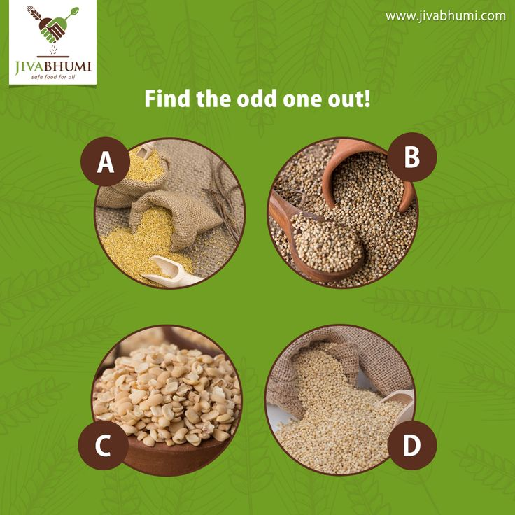 Can you identify the pulse out of the millets? Share your answers in the comments section below. | http://bit.ly/shop_jivabhumi #Jivabhumi #FarmFood #NaturalFood #Millets #Pulses #Dals