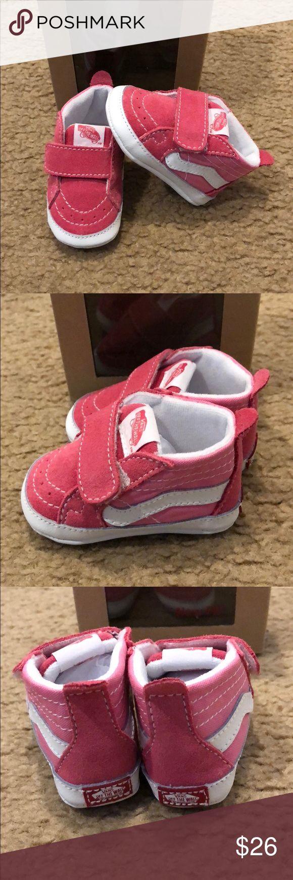 Sk8Hi Crib Vans New in box. Pink Vans Shoes Baby & Walker