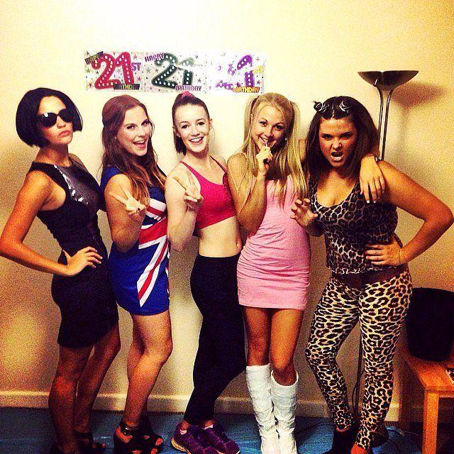 DIY '90s Halloween Costumes | Spice Girls