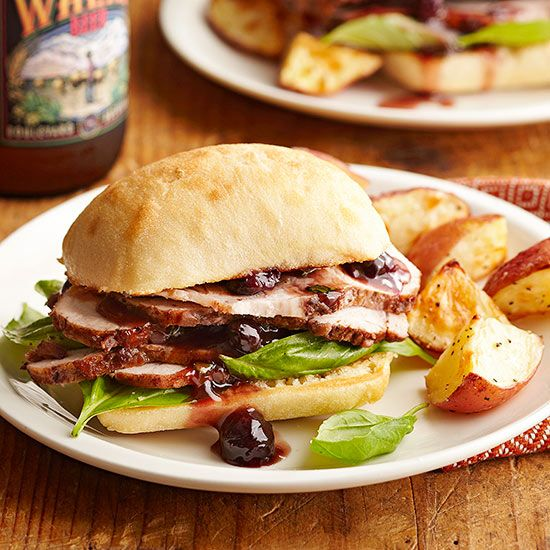 Recipes for slow cooker sandwiches are everywhere, but these gourmet sandwiches go full-on fall.