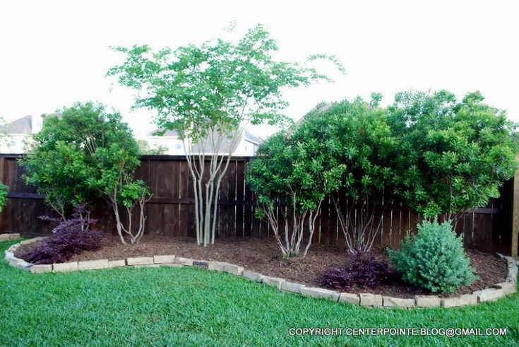 Centerpointe Communicator Landscaping Made Easy Part 13 Crape And Wax Myrtles Re In 2020 Easy Backyard Landscaping Backyard Landscaping Backyard Landscaping Designs