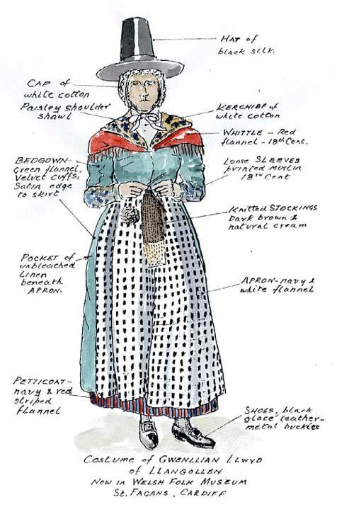 Welsh Dress