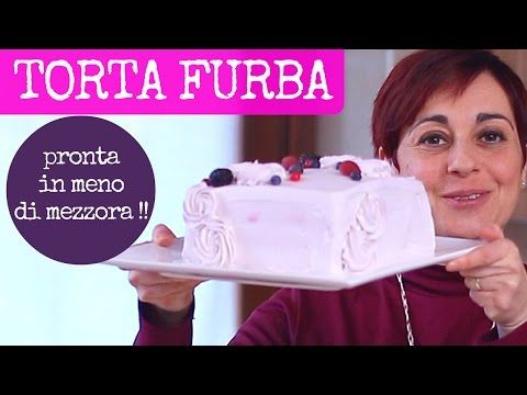 TORTA DI COMPLEANNO FURBA - Ricetta Facile per fare una torta alta quadrata in meno di mezz'ora - YouTube