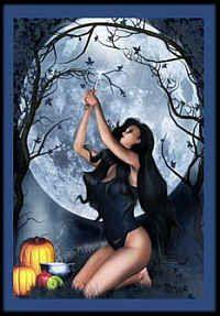 wiccan halloween greeting