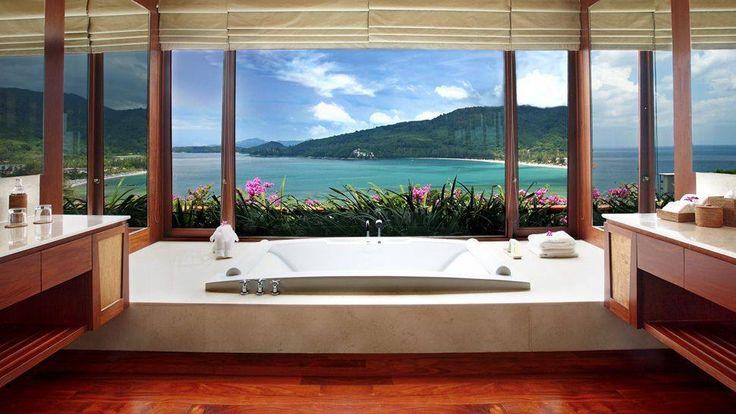 Andara Resort Villas PhuketBays Windows, Favorite Places, Modern Bathroom, Andara Resorts, 50 Tubs, Hotels Interiors, Villas, View, Phuket