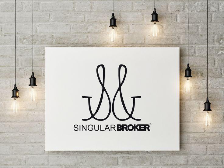 SINGULAR BROKER mockup #mockup #branding #identidadcorporativa #marcas