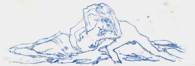 I Dream of Kissing You Over Again. Tracey Emin. #art