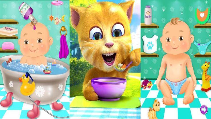 Aprende Los Colores Un Jefe En Pañales y Talking Ginger -  Dibujos Anima...