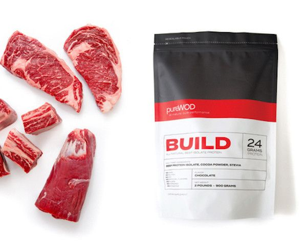PureWOD BUILD Beef Isolate Protein Powder