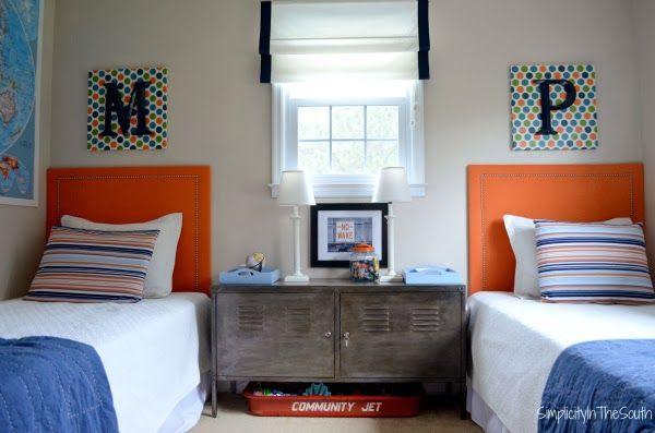 10 Cute Shared Boys Bedroom Ideas | Family, Food, Fun.