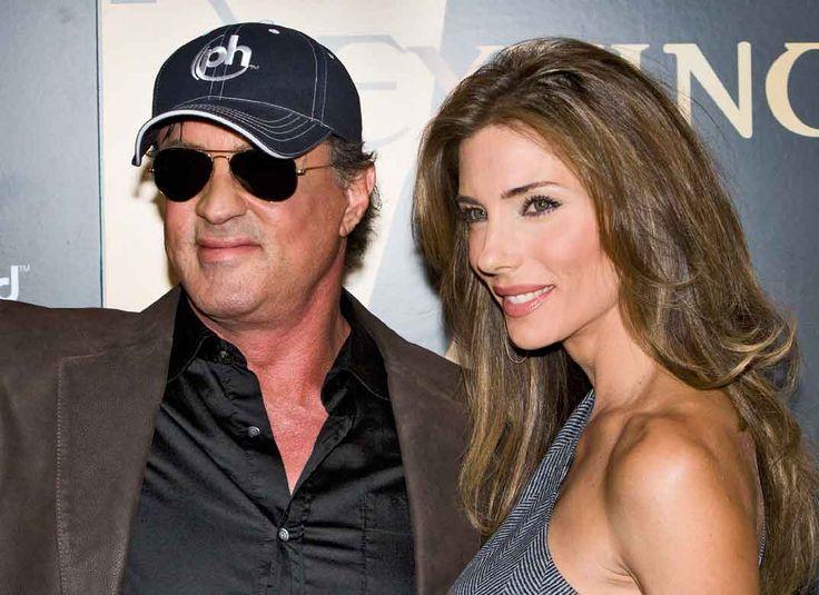 Sylvester Stallone y Jennifer Flavin 2007