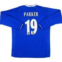 2003-05 Chelsea Home L/S Shirt Parker #19 L , From CLASSIC FOOTBALL SHIRTS LIMITED , CLASSIC FOOTBALL SHIRTS LIMITED
