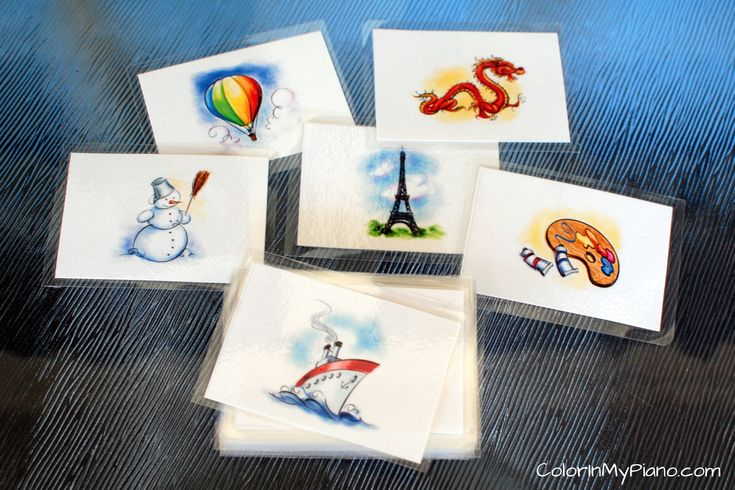Improvisation & Composition Inspiration Cards--what a great idea!