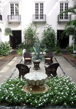 Courtyard Ideas Design small courtyard garden design ideas cozy intimate courtyards outdoor spaces patio ideas decks Interior Courtyard With Flower Lined Paths And Colorful Accents French Courtyardcourtyard Designcourtyard Ideascourtyard