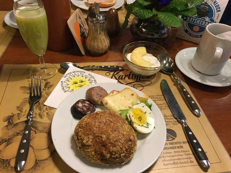 Frühstück im #Kartoffelhotel
