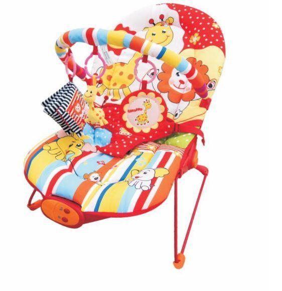 Жирафики Детское кресло-качалка Веселый зоопарк