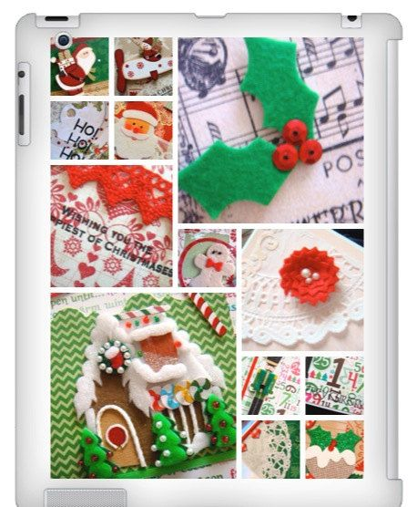 iPad 2 cover Candy Cane on Etsy, £36.44