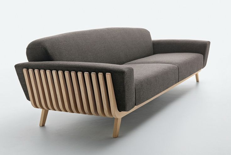 Beautiful sofa Hamper Sofa from the factory Passoni Nature