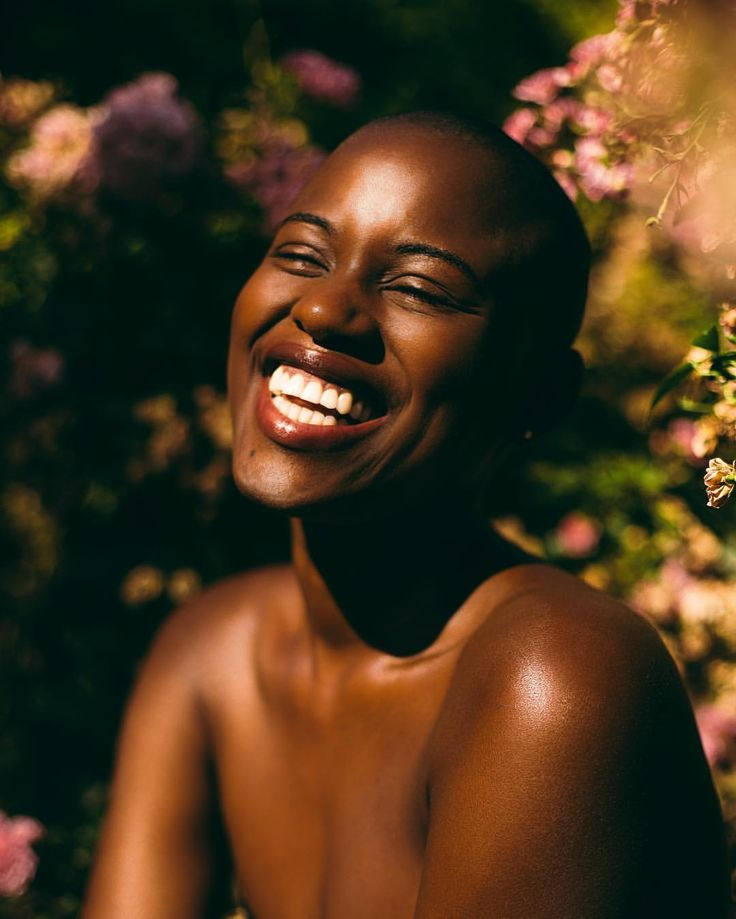 Beautifully captured by @_mariannepaul • Beauty. Sun-kissed. Laughter. Smile. Happy. Brown skin. Dark skin women. Dark skin beauty.