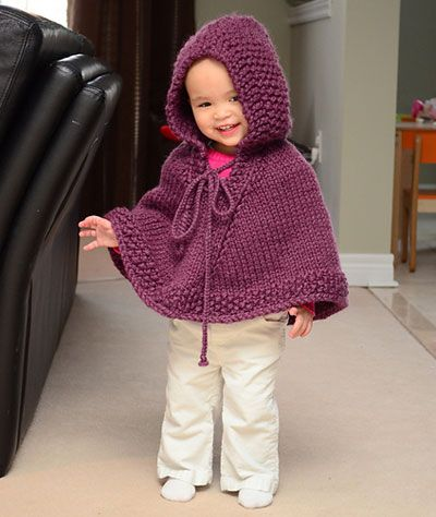 Knitting Pattern Cape Child : 25+ best ideas about Knit Poncho on Pinterest Knitted poncho, Poncho knitti...