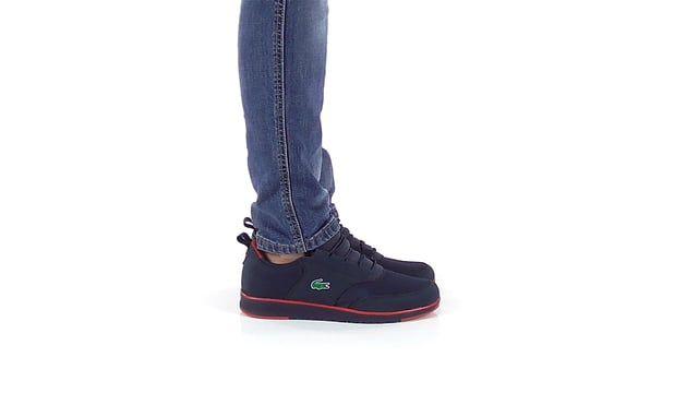 Light - Ανδρικά παπούτσια casual Lacoste από υφασμα και nubuck συνθετικο - Gianna Kazakou Online