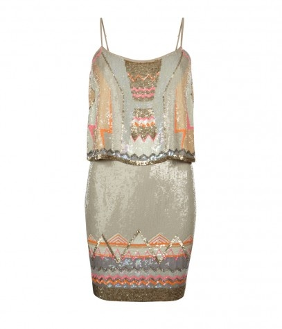 Tribal Dress glamour ♥ Allsaints Chan Vest Dress