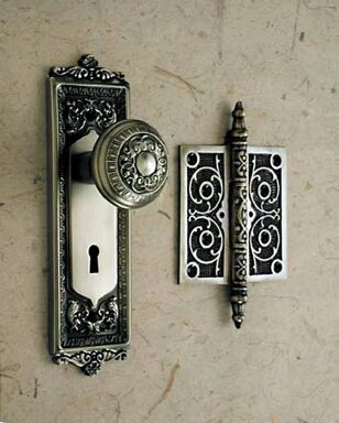 #Door #Knob & Hinge beautiful door furniture @Building Works Australia #doorknobs