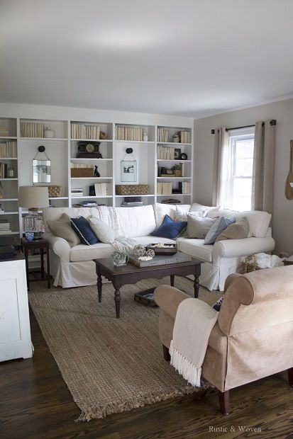 Living Room Summer 2015 1 home transformation with before and afters