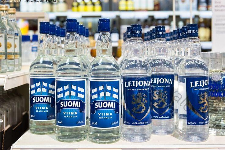 Suomi viina - brännvin ... Leijona viina - brännvin - taatusti suomalainen ... #viina #alkoholi #mainos