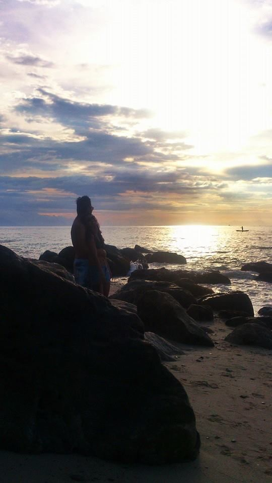 Sunset at White Beach in Puerto Galera, Mindoro Oriental