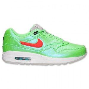 Nike Air Max 1 FB Premium QS Heren Polariseren Groen Koraal Oranje Grijs Wit Zwart Schoenen kopen. Factory Store Belgie