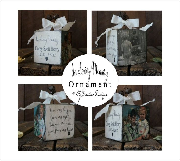 Ordinary Christmas Ornaments For Lost Loved Ones Part - 10: IN LOVING MEMORY Ornament, Loss Of Loved One, Miscarriage, Personalized  Photo Ornament,
