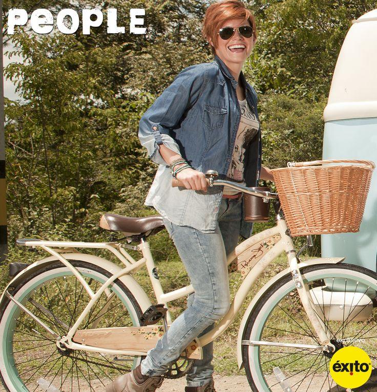 Alista tu mejor actitud para disfrutar cada espacio http://www.jeansexito.com #VivoLaModa