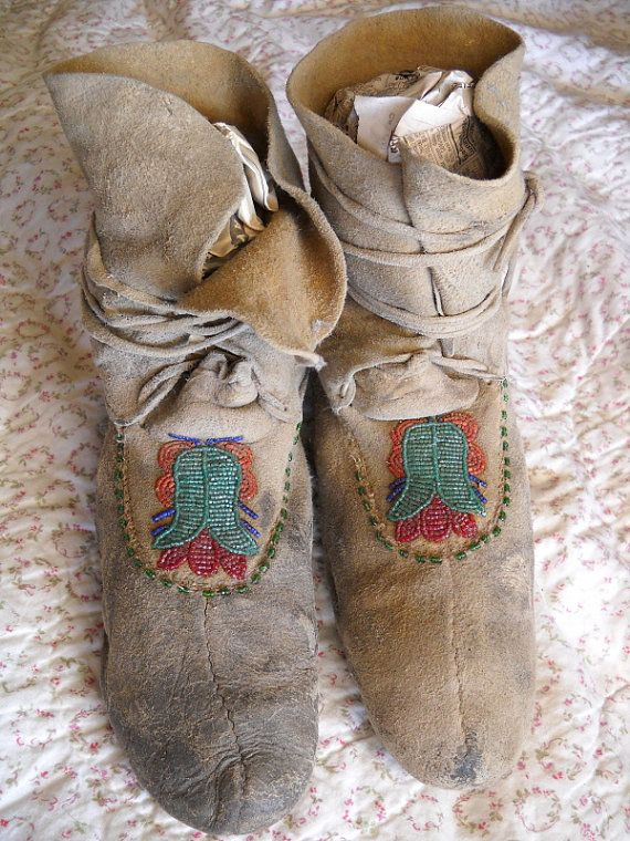 88 Best Images About Mountain Man Moccasins On Pinterest