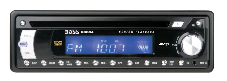 Boss Audio 506CA IN-DASH CD RECEIVER