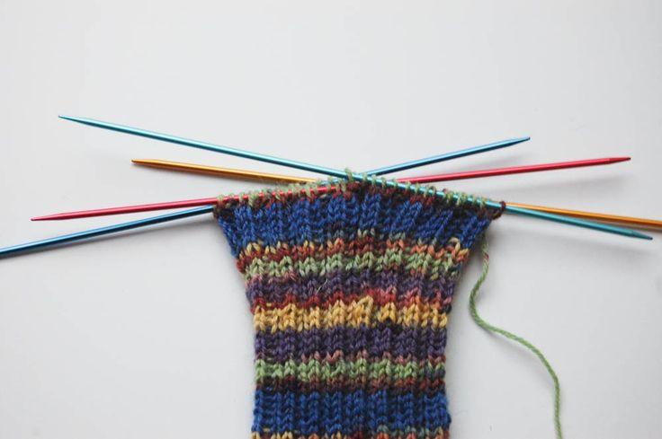 Socken stricken Anleitung: Socken stricken in 7 Schritten