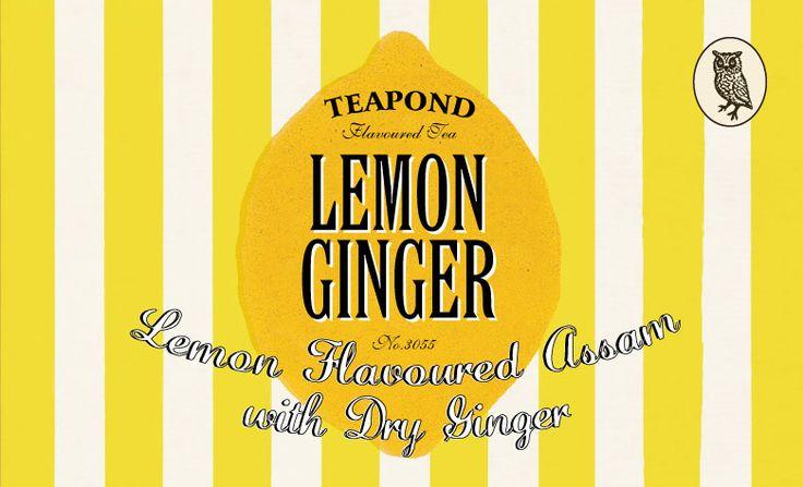 レモンジンジャー 紅茶ビルボード