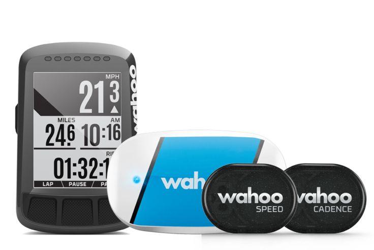 Wahoo Fitness ELEMNT BOLT - GPS Fahrrad-Computer - Bundle Komplett im Bundle... Fahrradcomputer Speed Sensor Cadence Sensor Herzfrequenz Sensor