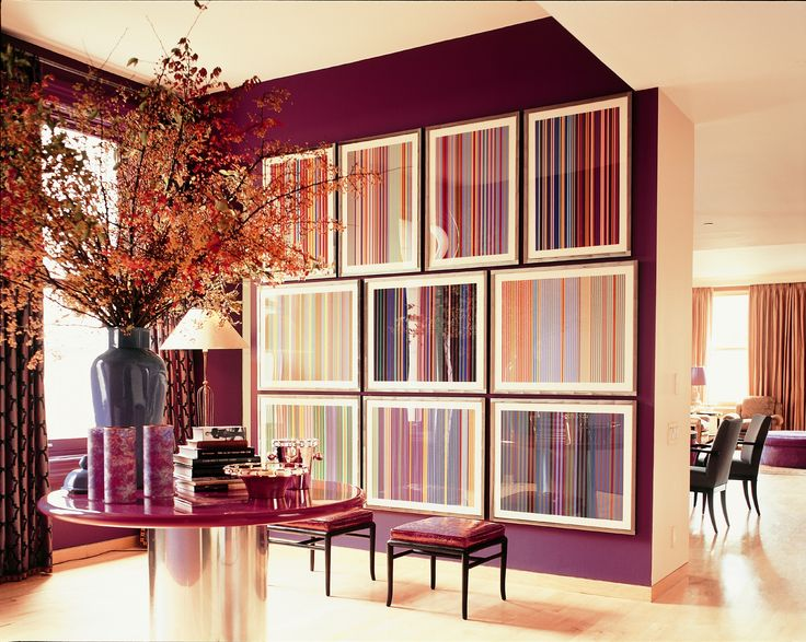 Love This Plum Wall Color From Benjamin Moore