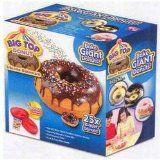 Big Top Donut - 25 Times Bigger Donut Bakeware  List Price: $29.99 Discount: $22.50 Sale Price: $7.49