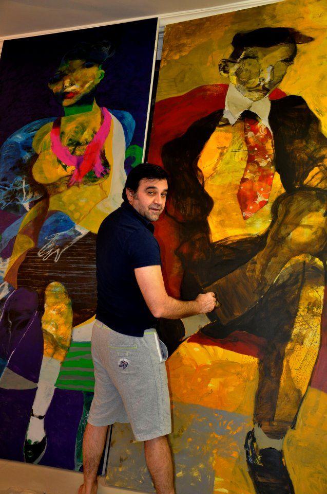 Serwan Baran artist. Born in Baghdad- Iraq 1968