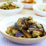 Gaji Namul (Steamed Eggplant Side Dish)