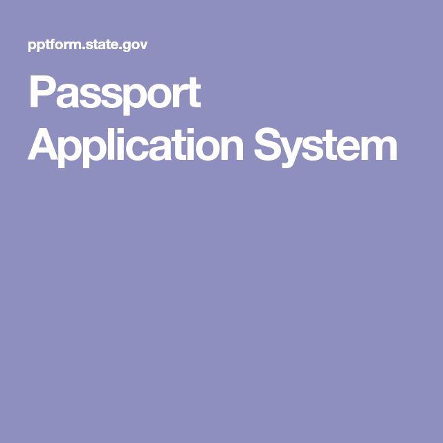 Passport Application System