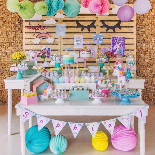 Unicórnio é pop! Muitas ideias para sua festa aqui   Baby & Kids   It Mãe