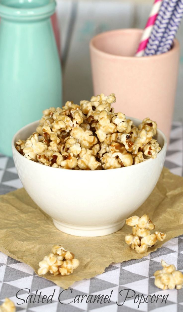 Satisfy your biggest cravings with a bowl of delicious Salted Caramel Popcorn (you won't even need to turn the oven on!).