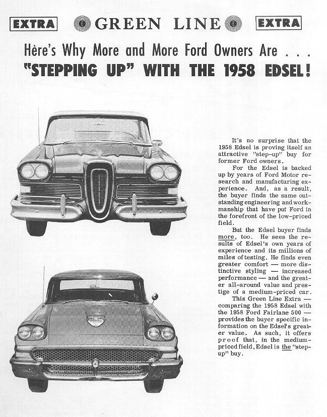 1000  Images About Edsel 1958